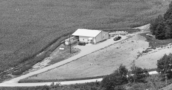 Vintage Aerial photo from 1996 in Marion County, IL