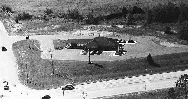 Vintage Aerial photo from 1992 in Marquette County, MI