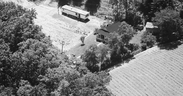 Vintage Aerial photo from 1984 in Magoffin County, KY