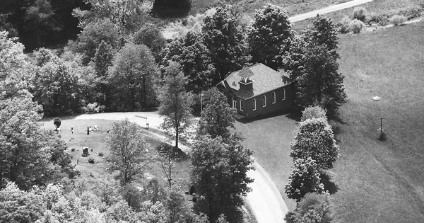 Vintage Aerial photo from 1985 in Doddridge County, WV