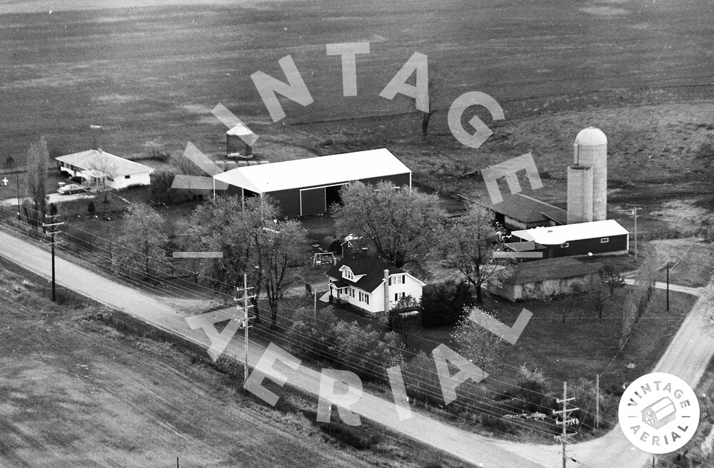 Vintage Aerial | Wisconsin | Kenosha County | 1974 | 31-KKE-1