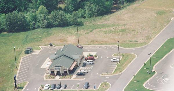 Vintage Aerial photo from 1999 in Columbia County, GA
