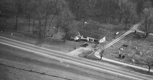Vintage Aerial photo from 1987 in Clark County, OH