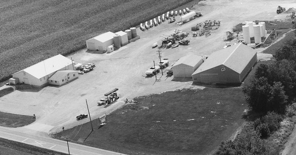 Vintage Aerial photo from 1997 in Jefferson County, IL