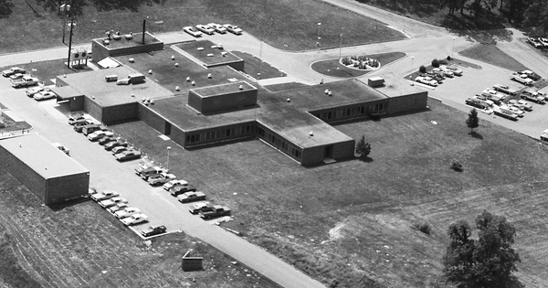 Vintage Aerial photo from 1981 in St. Clair County, MO