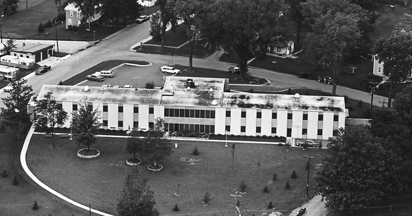 Vintage Aerial photo from 1965 in Lafayette County, WI