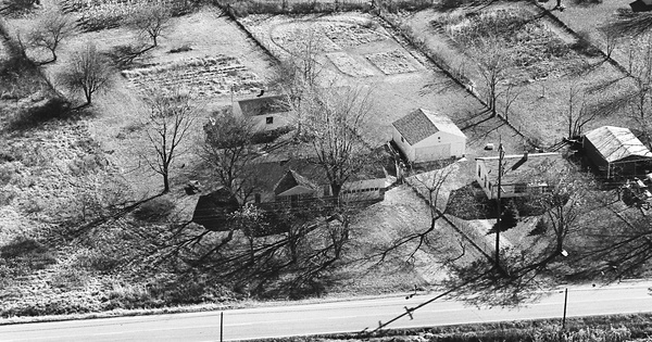 Vintage Aerial photo from 1981 in Warren County, OH