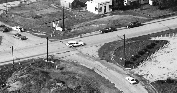Vintage Aerial photo from 1984 in Westmoreland County, PA