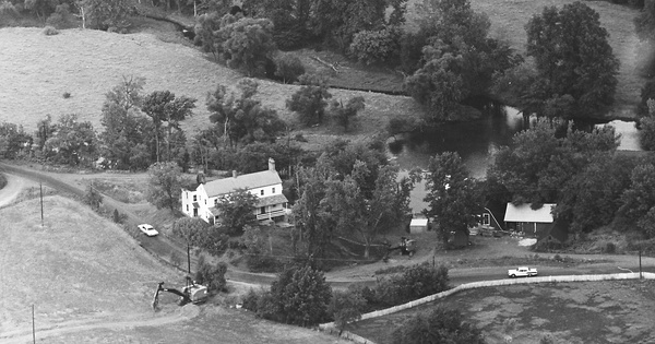 Vintage Aerial photo from 1965 in Hunterdon County, NJ