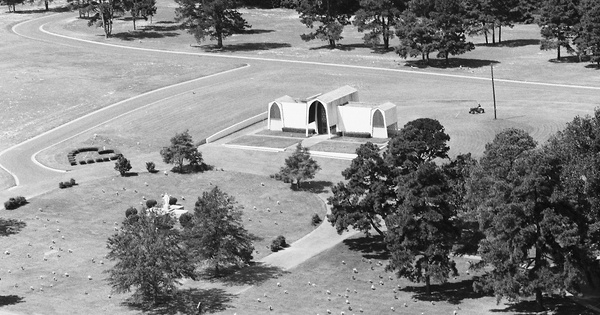 Vintage Aerial photo from 1985 in Smith County, TX