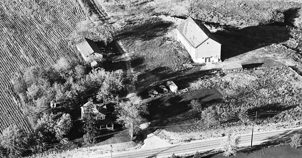 Vintage Aerial photo from 1964 in McHenry County, IL