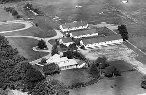 Vintage Aerial   Michigan   Oakland County