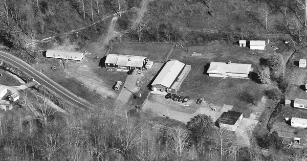 Vintage Aerial photo from 1994 in Boone County, WV