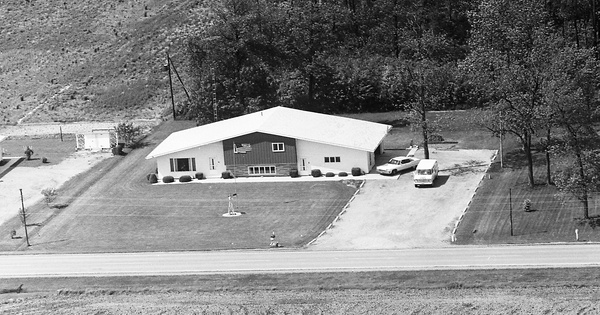 Vintage Aerial photo from 1973 in Putnam County, OH