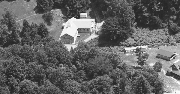 Vintage Aerial photo from 1991 in Clay County, WV