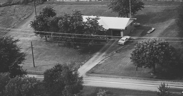 Vintage Aerial photo from 1981 in Muhlenberg County, KY