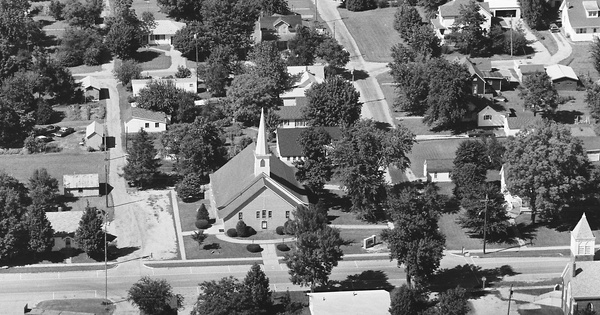 Vintage Aerial photo from 1981 in Mason County, IL