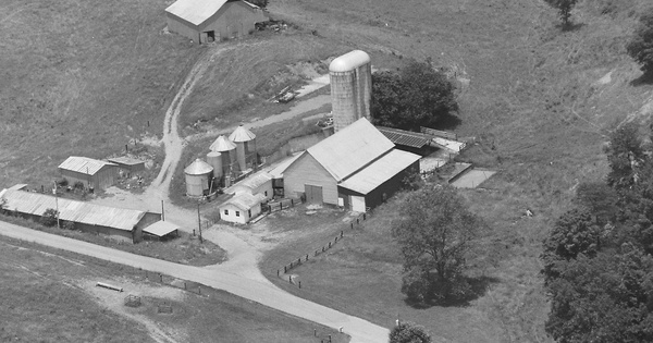 Vintage Aerial photo from 1996 in Greene County, TN