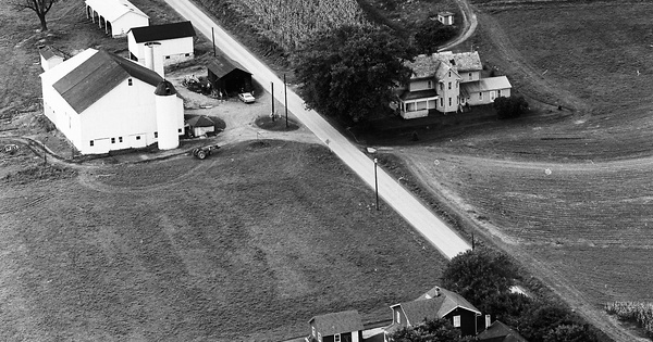 Vintage Aerial photo from 1971 in Armstrong County, PA