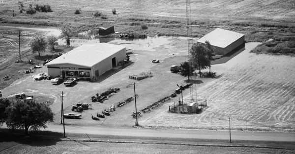 Vintage Aerial photo from 1980 in Putnam County, OH
