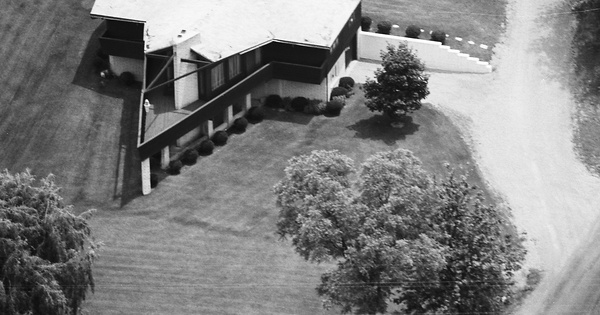 Vintage Aerial photo from 1980 in Wayne County, OH