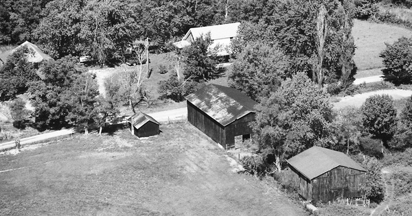 Vintage Aerial photo from 1986 in Madison County, KY