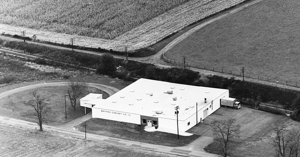 Vintage Aerial photo from 1972 in Montgomery County, MD