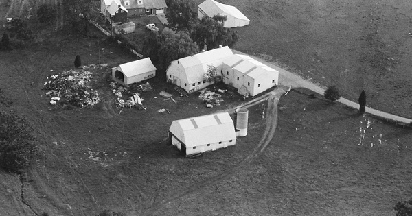 Vintage Aerial photo from 1982 in Washington County, MD