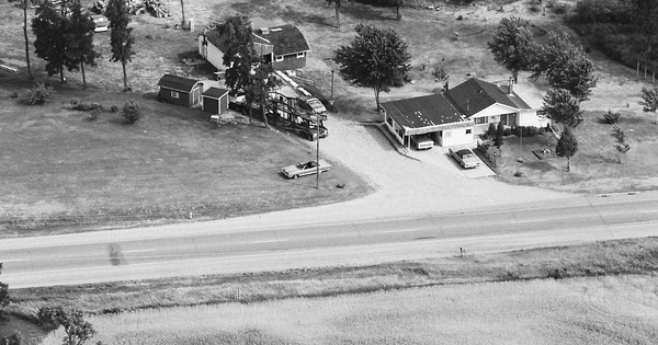 Vintage Aerial photo from 1983 in Branch County, MI