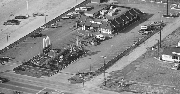 Vintage Aerial photo from 1980 in Bedford County, TN