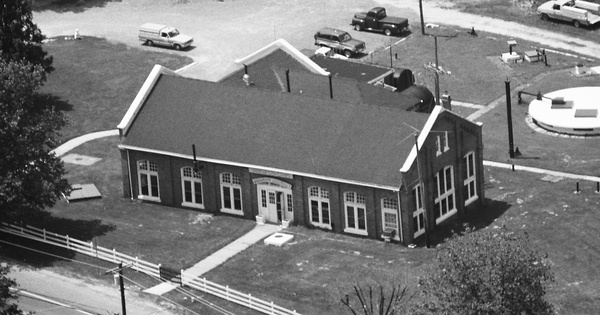 Vintage Aerial photo from 1988 in Cape May County, NJ