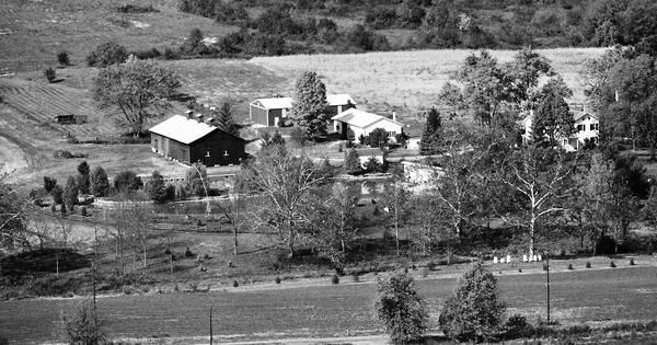 Vintage Aerial photo from 1988 in Butler County, OH