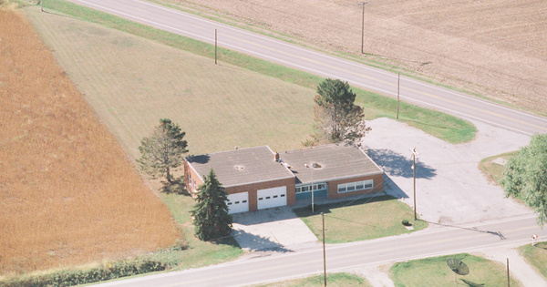 Vintage Aerial photo from 1999 in Wood County, OH