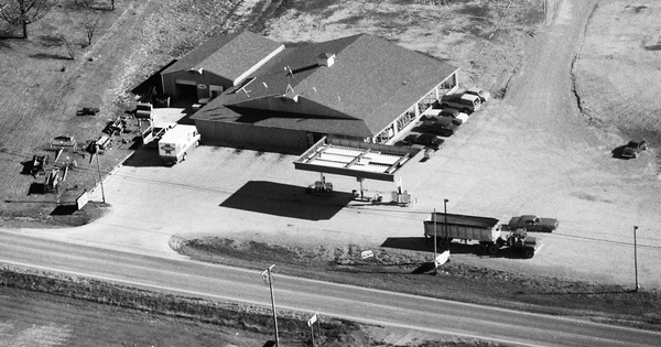 Vintage Aerial photo from 1990 in Williamson County, IL