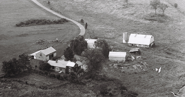 Vintage Aerial photo from 1972 in Washington County, MD