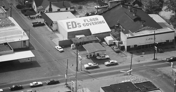 Vintage Aerial photo from 1980 in Williamson County, TN