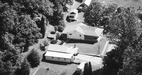 Vintage Aerial photo from 1984 in Wetzel County, WV