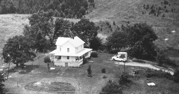 Vintage Aerial photo from 1992 in Greene County, TN