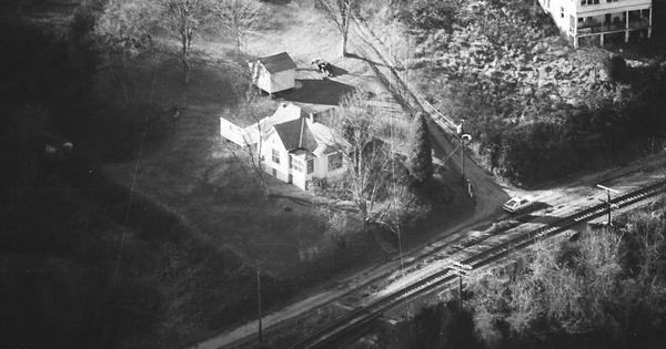 Vintage Aerial photo from 1984 in Doddridge County, WV