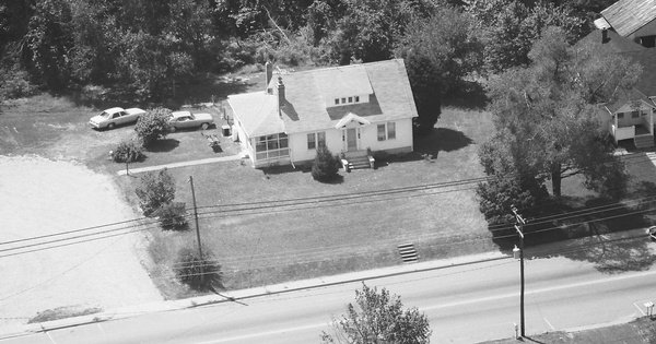 Vintage Aerial photo from 1987 in King George County, VA