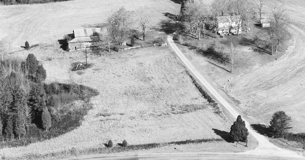 Vintage Aerial photo from 1984 in Randolph County, NC