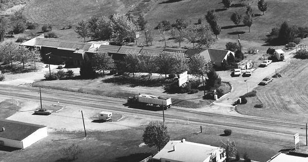 Vintage Aerial photo from 1973 in Frederick County, VA