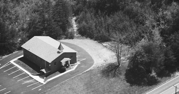 Vintage Aerial photo from 1987 in Rhea County, TN