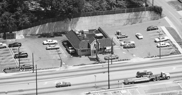 Vintage Aerial photo from 1988 in Floyd County, GA