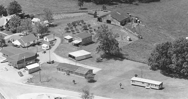 Vintage Aerial photo from -1986 in Catawba County, NC