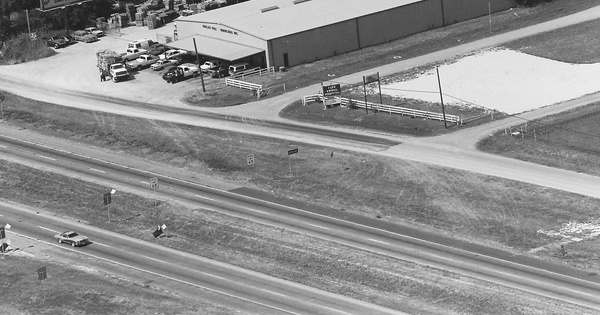 Vintage Aerial photo from 1988 in Dallas County, TX