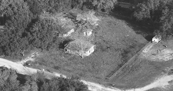 Vintage Aerial photo from 1997 in Pasco County, FL