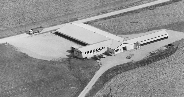 Vintage Aerial photo from 1980 in Mahaska County, IA