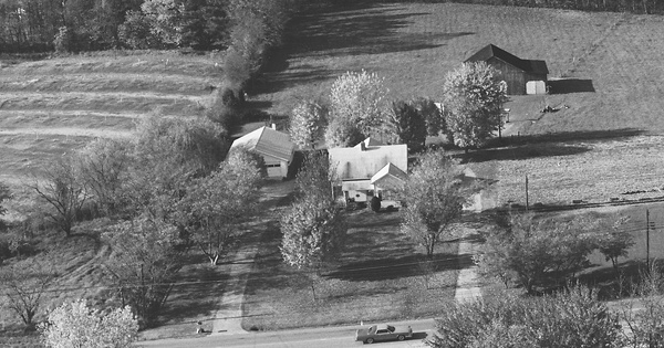 Vintage Aerial photo from 1982 in Russell County, KY