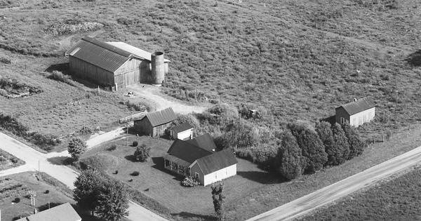 Vintage Aerial photo from 1979 in Casey County, KY